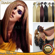 "u tip & keratin tipped human remy hair extension 18""-28"" many color to choose fast delivery"