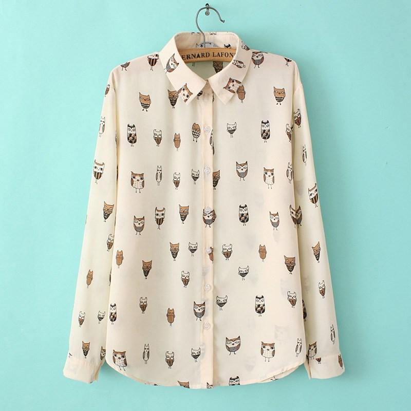 Купить Блузку С Совами