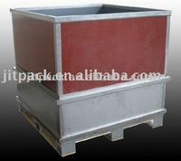 tobacco cutfiller packing wooden box