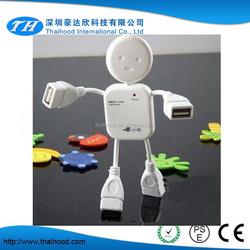 Hooot!!! cute USB hub man shape hub human USB hub