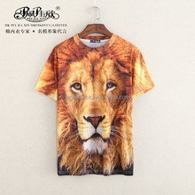 2015 Peijiaxin Fashion Design Casual Style 3D OEM Clothes Printing T shirt