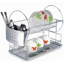 Hot sale stylish removable stainless steel kitchen dish rack