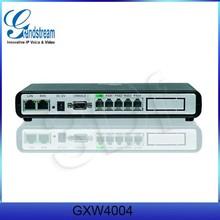 Grandstream 4 FXS+ 2RJ-45 VOIP Voice Home Gateway GXW4004