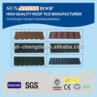 Shingles Asphalt Roof Metal Tiles/ Building Material Red Roof