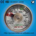 25mm extintor de incendios manómetro iso9001:2008 pasado, ce, ks