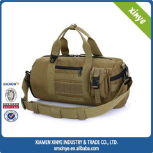 Outdoor canvas sport bag for army duffel bag