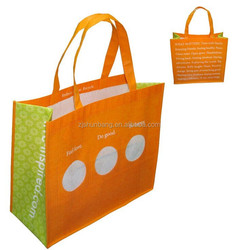 Customized Non Woven Bag Shopping Tote Carrier Personalized Bag