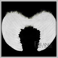 Halloween White Angel Wings For Sale