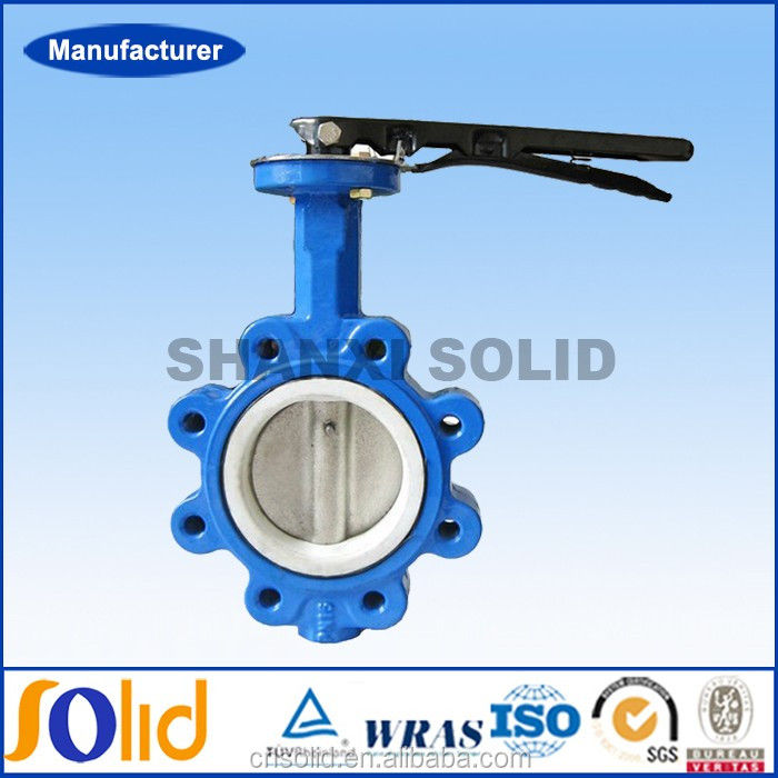 Cast Iron Lug Type Flanged PTFE Lined Butterfly Valve.jpg