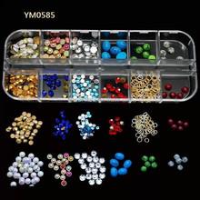 Yimart 3D Acrylic Metal Nail Art Mold DIY Decoration YM0585