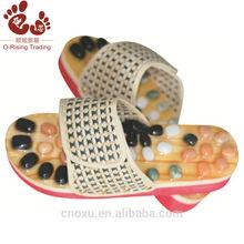 natural de piedra de jade masaje zapatillas