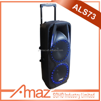 hot sale professional audio active speaker with digital amplifier portable bluetooth speaker with USB/SD/sound recording