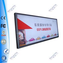 Outdoor waterproof advertising aluminum led poster frames