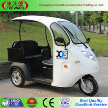 Electric Tricycle For Old And Disabeled Hot Sale Popular Product Electric Scooter With Roof