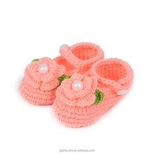 2015 winter newborn baby shoes,hand crochet baby shoes,Crochet Knit Baby Shoes Sippers shoes