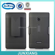 Hard plastic cell phone case for Nokia N532 holster combo stand case