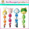 new products plush dog toy sounding rope dog toy
