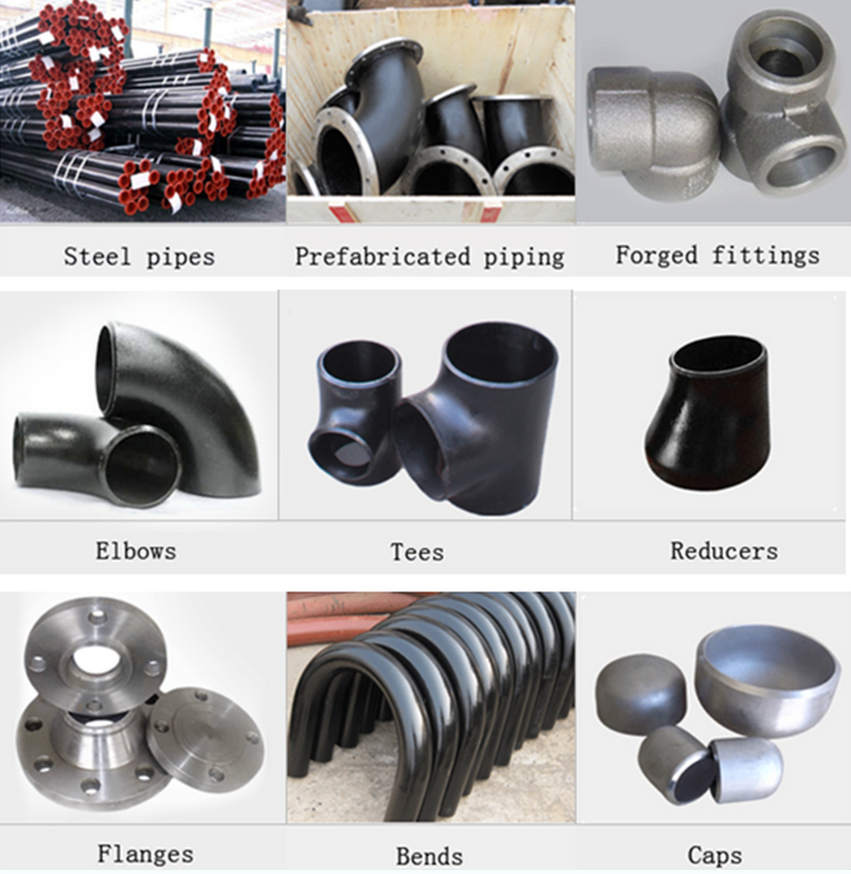 Inch schedule carbon steel pipe concentric