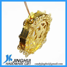 3D Hollow Out Etched Metal Handmade Decoration