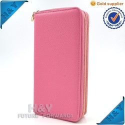PU Leather Smartphone Protective Cover Pouch Bag For iphone 6,Zipper Case for apple iphone