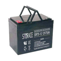 price of inverter battery 12v 75ah (made in china)