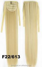 indian human hair ponytail for white women