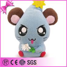 China wholesale soft toy plush hamster, plush cartoon toy