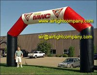 PVC inflatable arch high quality, durable inflatable advertising arch