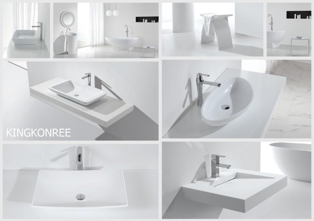 KKR solid surface basins