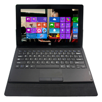 For windows 8 tablet 11.6 inch tablet pc leather keyboard case with touchpad