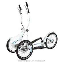 Trainer electric recumbent bike big wheel trike elliptical