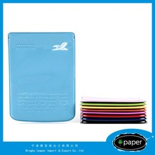 Custom full color print plastic vinyl pvc custom gift passport holder with Ticket Holder