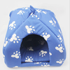 Blue Pet bed folding igloo dog house