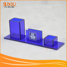 Manufacturer Advertisement Acrylic Promotion Pen Stand