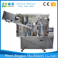 China factory price automatic facial makes plastic tube filling machine
