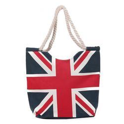 spring summer beach bag canvas shopping tote uk flage beach tote