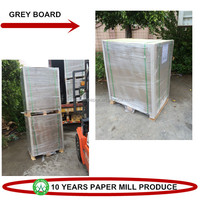 Paper Card Supplier High Quality 3mm Grey Card Board