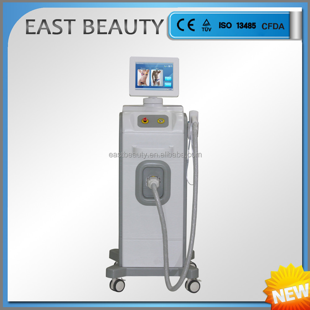vertical painfree 810nm diode laser hair removal machine