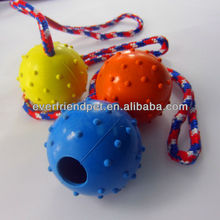 basket cat toy of rubber ball