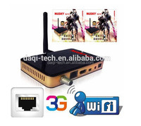 NUSKY HD DVBS2 Nagra 3 free TV channel satellite receiver decoder for South America.