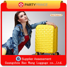Wholesale ABS PC Press-resistance Lightweight Stock Suitcase Guangzhou Manufacturer