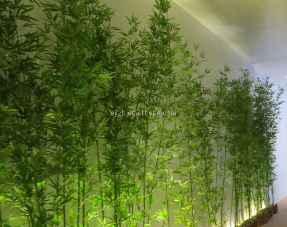 Hete verkoop kunstmatige bamboe boom hoogte 8ft, nep bamboe ...