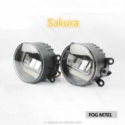 Wide beam angle LED car Fog DRL daytime running light vw polo fog light
