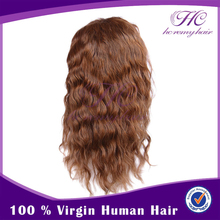 grey hair lace wig full lace human hair wigs with bangs