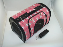 Luxury hot sales dog cage pink