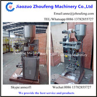 Automatic granule packing machine for solid particle