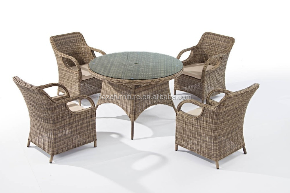 Synthetic Round Rattan Dining Table And Chair Hd Designs Outdoor Furniture Di