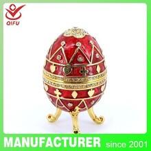 Faberge Egg jewelry box (QF3292)