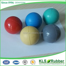 Rubber Material and Skip Ball Type Blue Green Red Yellow Grey Color bounce ball