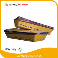 hot dog fast food container box